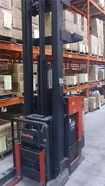 Used Raymond Double Reach Truck